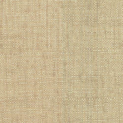 Warner 2758-87917 Caviar Beige Basketweave Wallpaper,