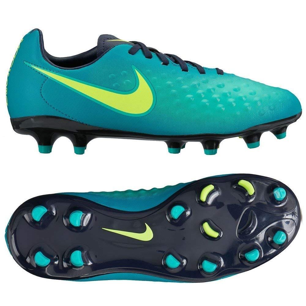 73c6dd124414 Amazon.com | Nike Kids Magista Opus II FG Rio Teal/Volt/Obsidian/Clear Jade  Soccer Shoes - 10.5C | Athletic