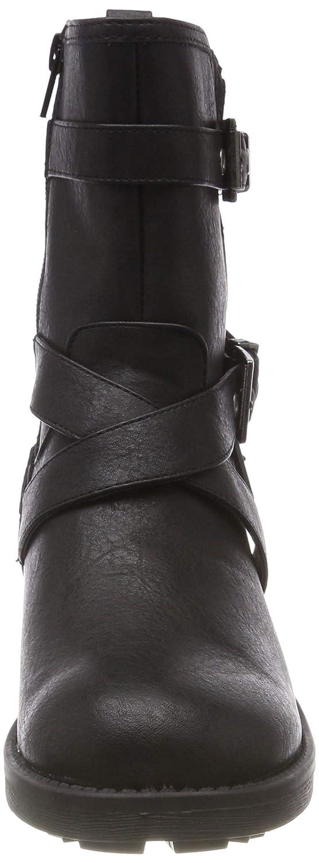 Head Over Heels Damen Raakel Biker Stiefel,  Schwarz (schwarz (schwarz Schwarz Synthetic schwarz Synthetic) 3252fe
