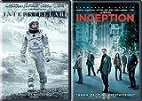 Christopher Nolan Sci-Fi Set - Interstellar & Inception 2-Movie Bundle
