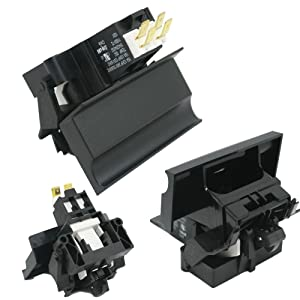Frigidaire 154529403 Dishwasher Door Latch Assembly Genuine Original Equipment Manufacturer (OEM) Part Black