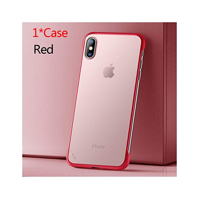 coque iphone xs max rouge mat