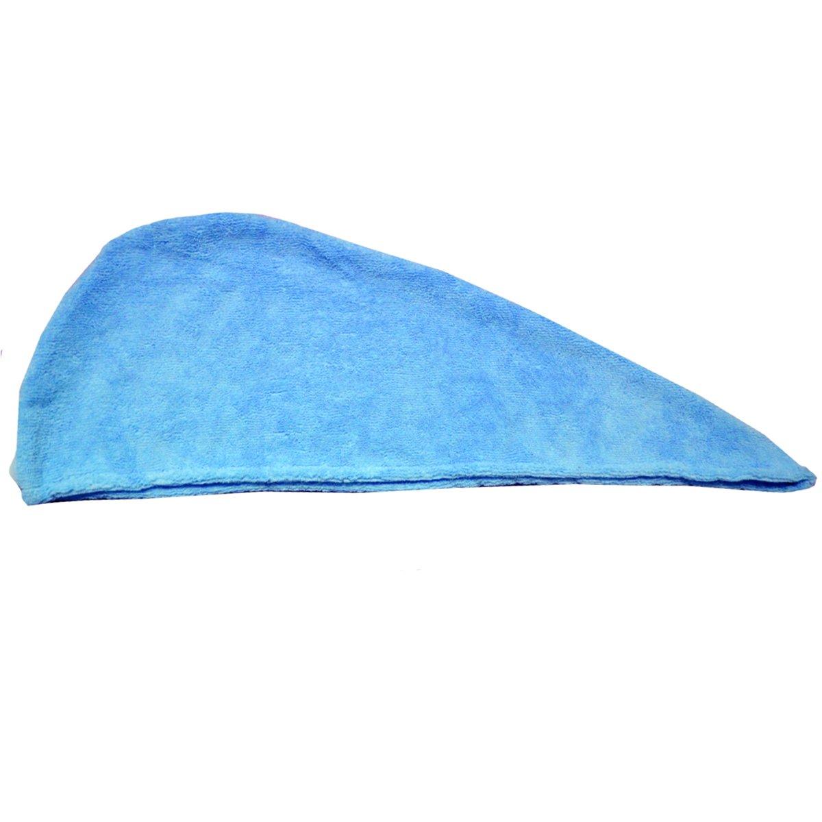 0ea51937dd YAOSEN Women Spa Wrap Set Terry Bath Towel Absorbent Bathrobe With Hair  Drying Hat (Blue) at Amazon Women s Clothing store