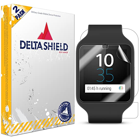 Amazon.com: Sony Smartwatch 3 Screen Protector [2-Pack ...