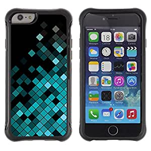 SHIMIN CAO@ Polygon Disco Pattern Music Equalizer Rugged Hybrid Armor Slim Protection Case Cover Shell For iphone 6 6S CASE Cover ,iphone 6 4.7 case,iphone 6 cover ,Cases for iphone 6S 4.7