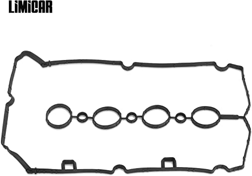 LIMICAR Valve Cover Gasket Set For 09-11 Chevrolet Aveo 1.6L 11-13 Chevrolet Cruze 1.8L 12-13 Chevrolet Sonic 1.8L 09-10 Pontiac G3 1.6L 08-09 Saturn Astra 1.8L 55354237 VS50779R