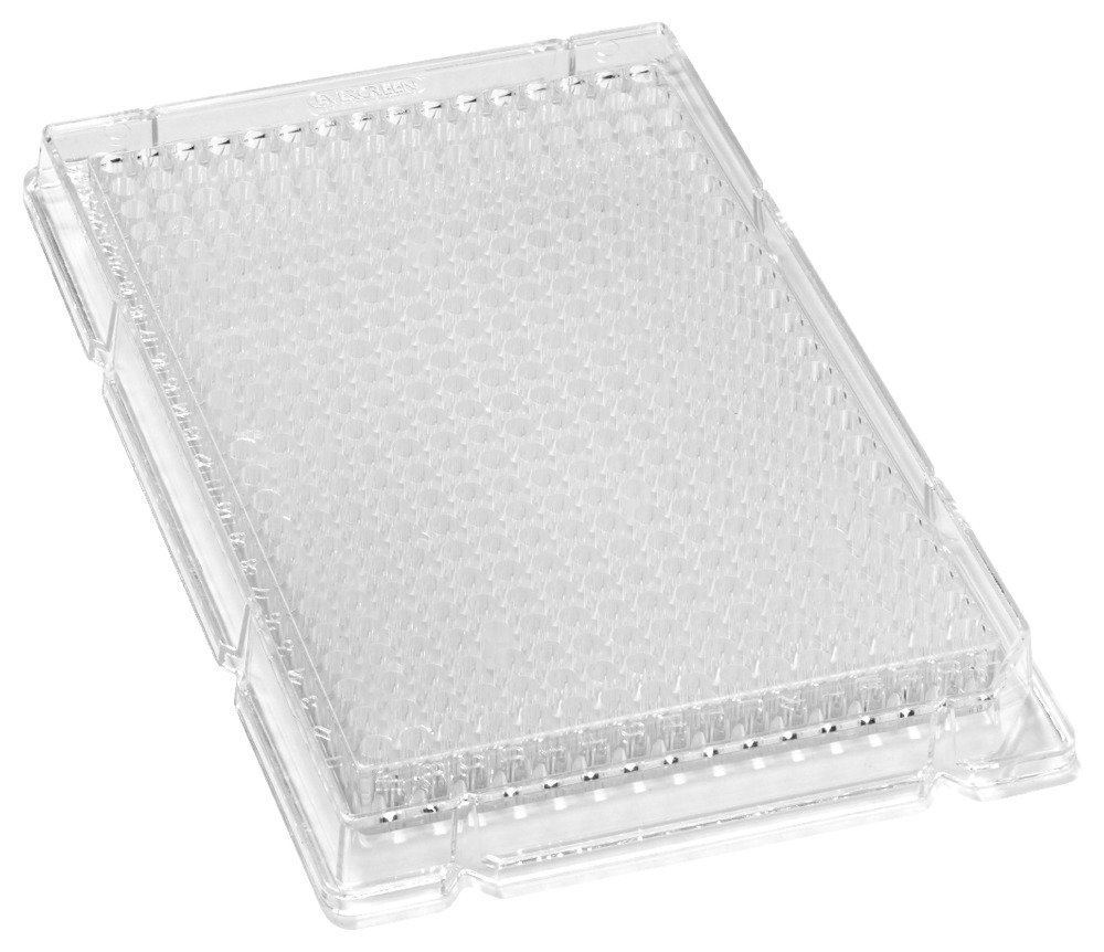 Caplugs Evergreen 222-8210-01I Sterile 384-Well Plates. Polystyrene, Natural, Individually Packed by Caplugs
