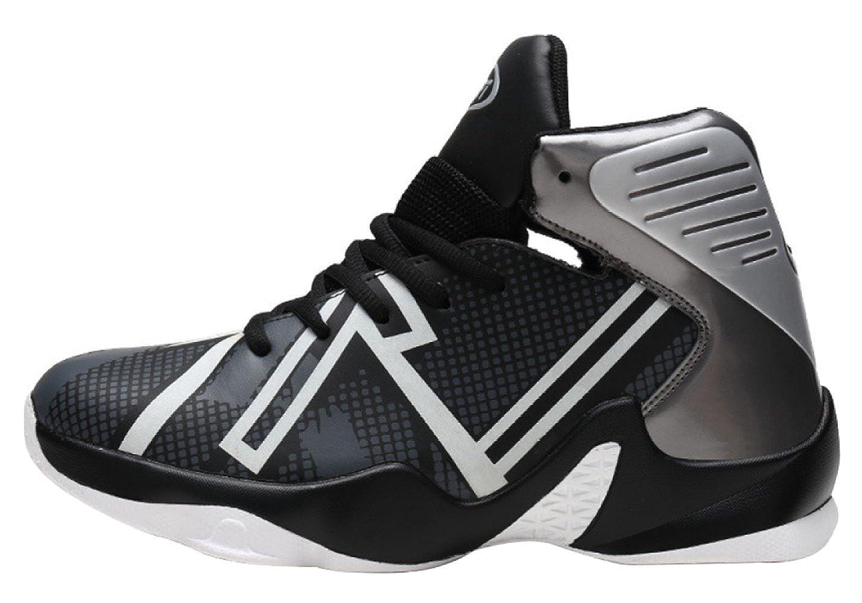 Baskets Chaussures De Basket-ball Pour Hommes Respirant Porter Des Chaussures Sport De Sport Chaussures Rembourrage Chaussures De Course Lumineuses 44 EU|4 b8125f