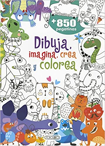 Dibuja,crea colorea 2 (Dibuja,crea,imajina y colorea): Amazon.es ...