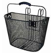 Ventura Easy Mount Mesh Bicycle Basket (Black)