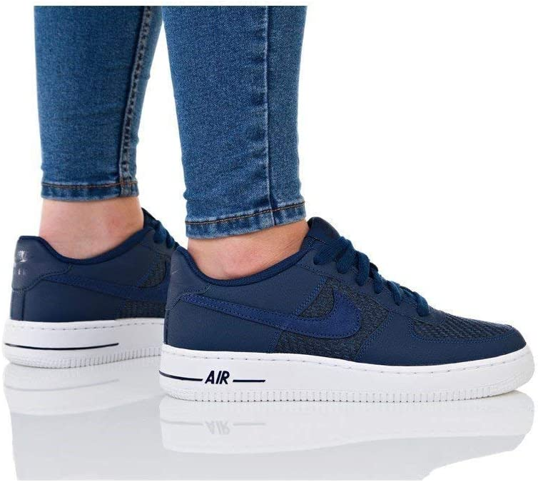Nike Air Force 1 LV8 GS 820438406 Color Navy Blue Size