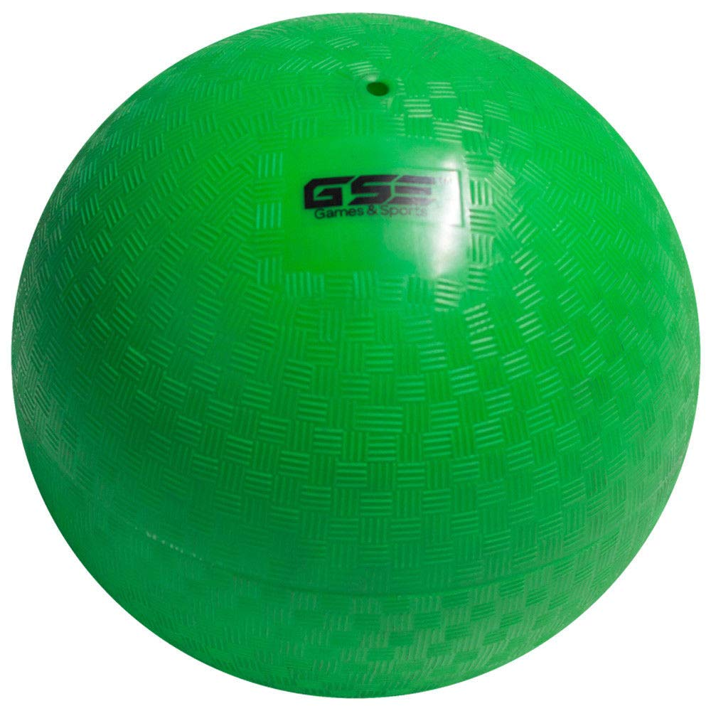 GSE Games & Sports Expert 8.5-inch Classic Inflatable Playground Balls (7 Colors Available) (Green) by GSE Games & Sports Expert