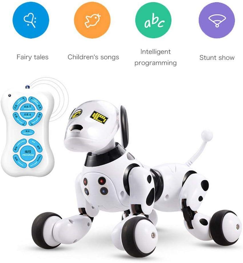 KOBWA Perro Robot de Control Remoto, Perro Robot Inteligente ...