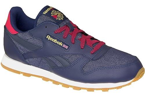 Reebok Classic Leather Dg Ar2042, Zapatillas Unisex niños: Amazon.es: Zapatos y complementos