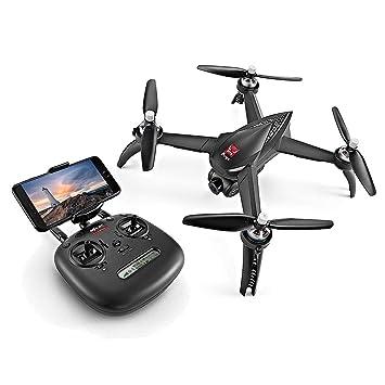 Drone, GPS sin escobillas Quadcopter 5G WiFi FPV profesional 1080P ...