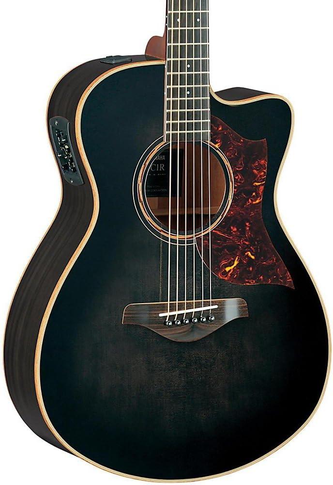 Yamaha A Series AC3 - Guitarra acústica acústica (tamaño compacto ...