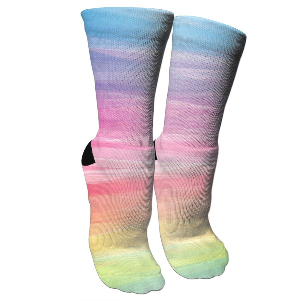 Colorful PatternCrazy Socks Casual Cotton Crew Socks Cute Funny Sock Great For Sports And Hiking