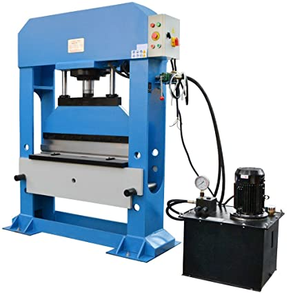 Images For Metal Bending Machine >> Amazon Com Electric Hydraulic Press Brake 100 Ton Metal Steel