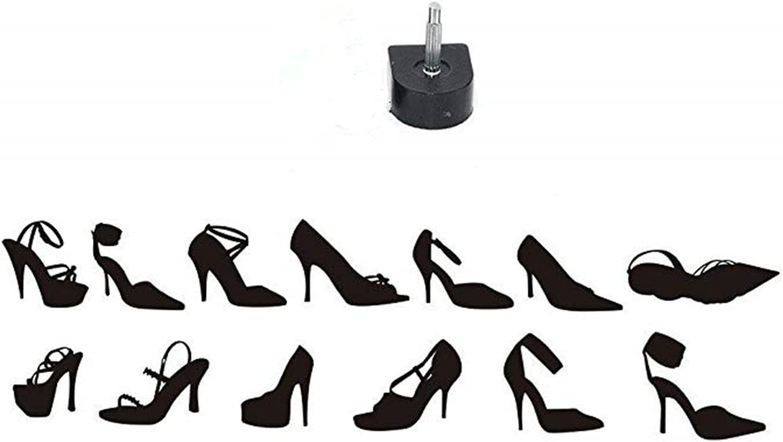 P Prettyia 10 Paires Embouts de Talons Hauts Conseils de R/éparation pour Femmes Chaussures Talons Hauts Talon Chaussures Accessoires