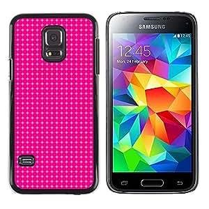 Be Good Phone Accessory // Dura Cáscara cubierta Protectora Caso Carcasa Funda de Protección para Samsung Galaxy S5 Mini, SM-G800, NOT S5 REGULAR! // Simple Pattern 12