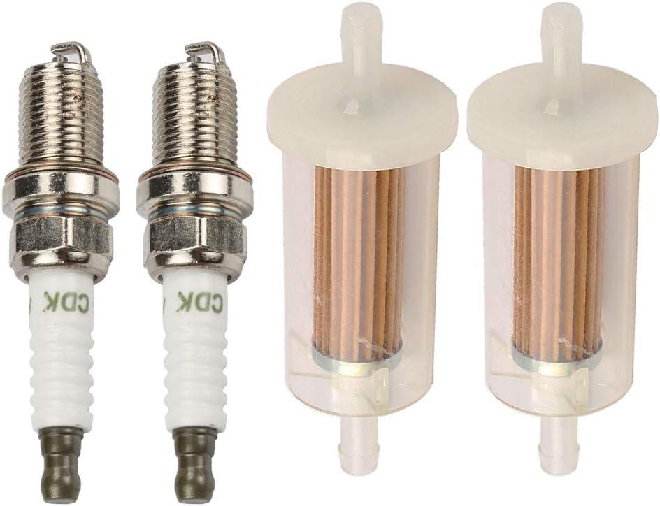 POEMQ 695666 Fuel Filter with Spark Plug