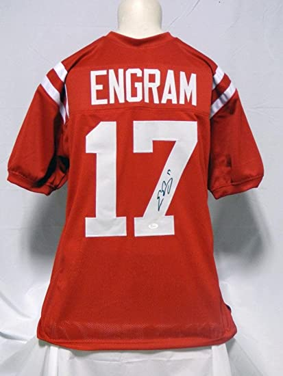 pretty nice 147ed 25aca Signed Evan Engram Jersey - Custom - JSA Certified ...