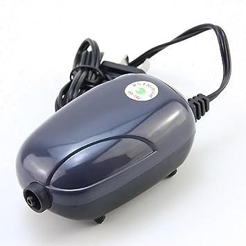 GOTTING Mini bomba de aire silenciosa potente bomba de oxígeno 220V acuario de la bomba del compresor de pescado tortuga del tanque de reducción de ruido: ...