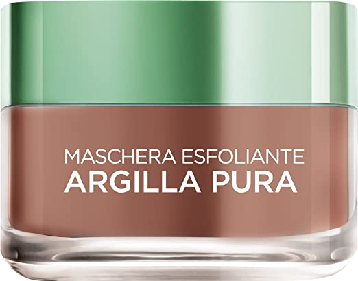 199 opinioni per L'Oréal Paris Argilla Pura Maschera Viso Esfoliante, 50 ml