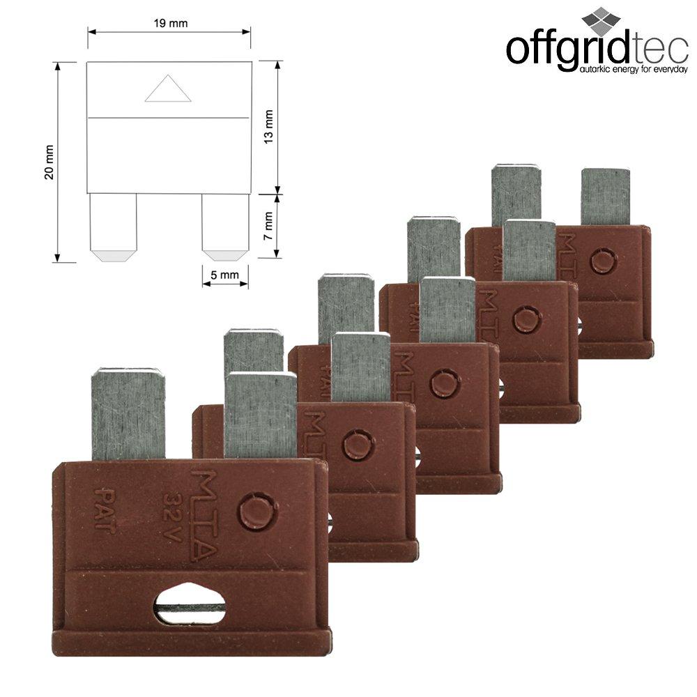 10A KFZ Flachsicherung 6-32V Offgridtec GmbH