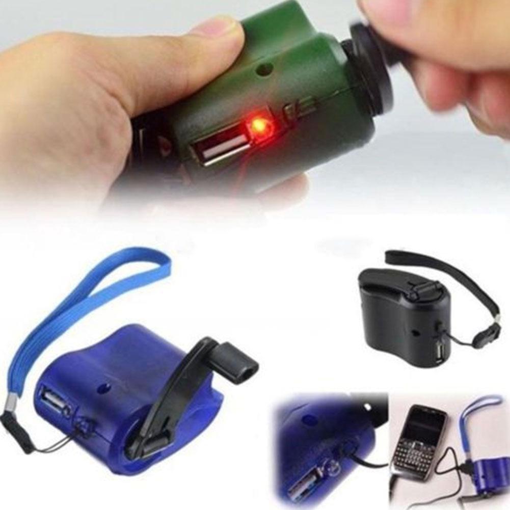Amazon.com: Eachbid Cargador de manivela de mano USB ...
