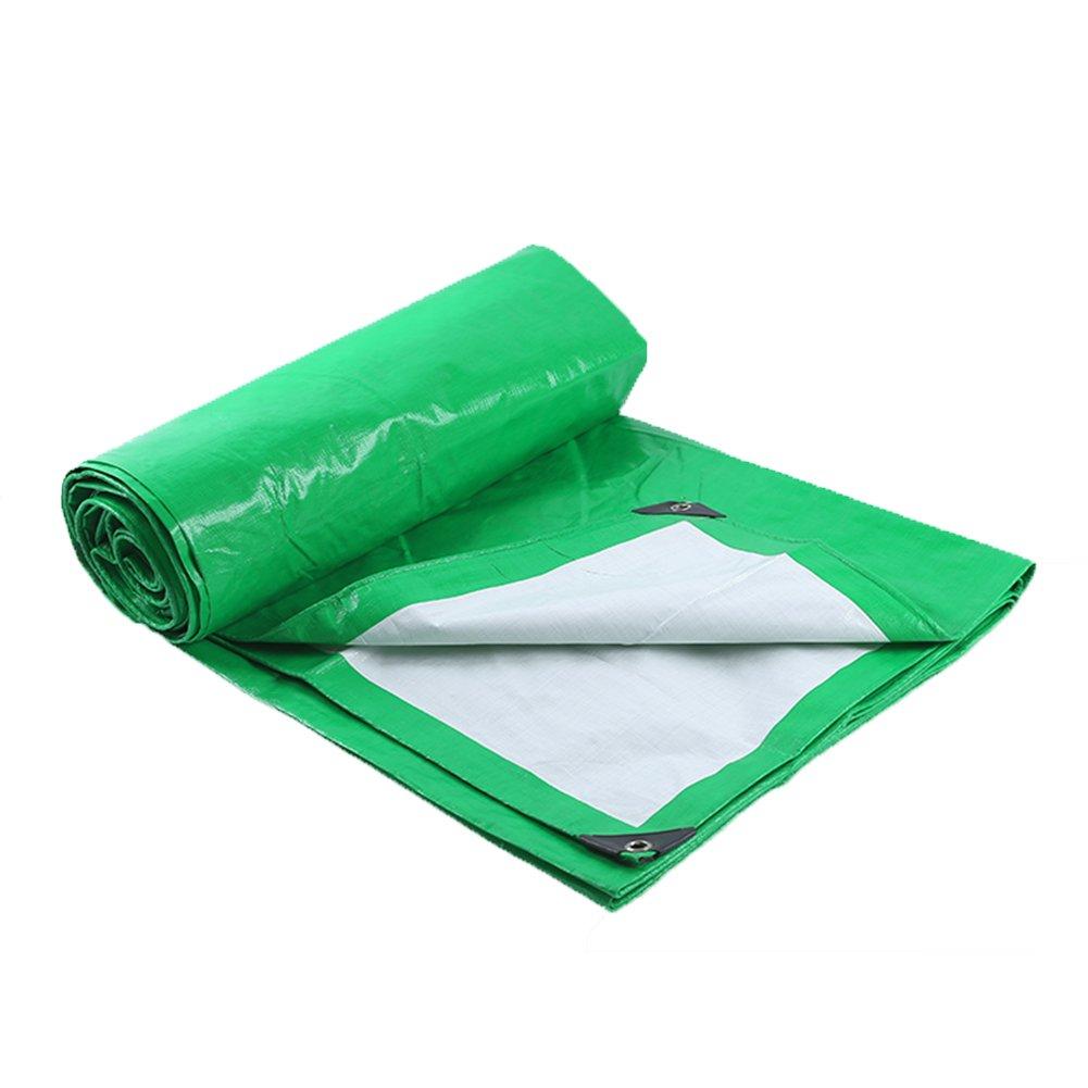 ZEMIN オーニング サンシェードターポリン 防水 日焼け止め テント シート ルーフ 防風 カバー 織り 保護 ポリエステル、 緑、 180G/18サイズあり (色 : 緑, サイズ さいず : 5X7M) B07D1MBS21 5X7M|緑 緑 5X7M