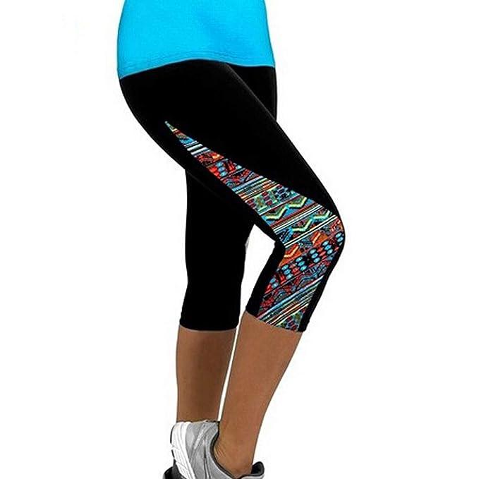 Women Leggings Capris Printed Black Milk Calzas Deportivas ...