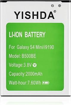 YISHDA Galaxy S4 Mini Batterie de rechange pour Samsung Galaxy S4 / S IV Mini i9190 2000 mAh