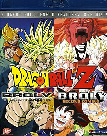 Amazon.com: Dragon Ball Z - Broly Double Feature [Blu-ray ...