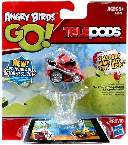 Hasbro Angry Birds GO! Telepods Red Bird Kart (Telepods Go Angry Birds)