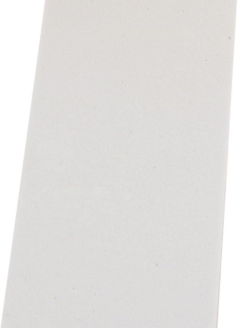 sourcing map 45mm Large 5mm Epaisseur EVA seul c/ôt/é /éponge mousse 2m Long