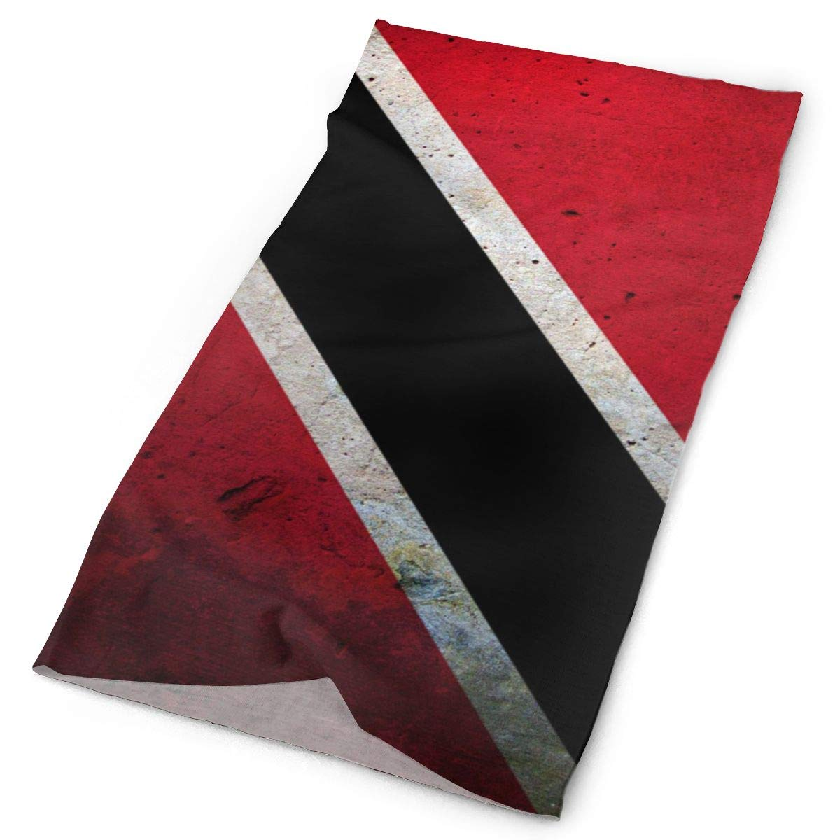 Trinidad and Tobago Flag Wall Unisex Fashion Quick-Drying Microfiber Headdress Outdoor Magic Scarf Neck Neck Scarf Hooded Scarf Super Soft Handle