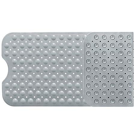 New Bathtub Mat Non-Slip Bathroom Anti-Slip Anti-Bacterial Extra Long Shower Mat