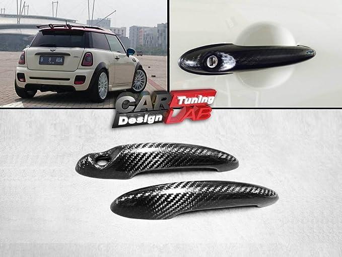(2) Cubierta de carbono para mango de puerta Mini Cooper S R50/R52/R53/R55/R56/R57/R58 2001 – 2013: Amazon.es: Coche y moto
