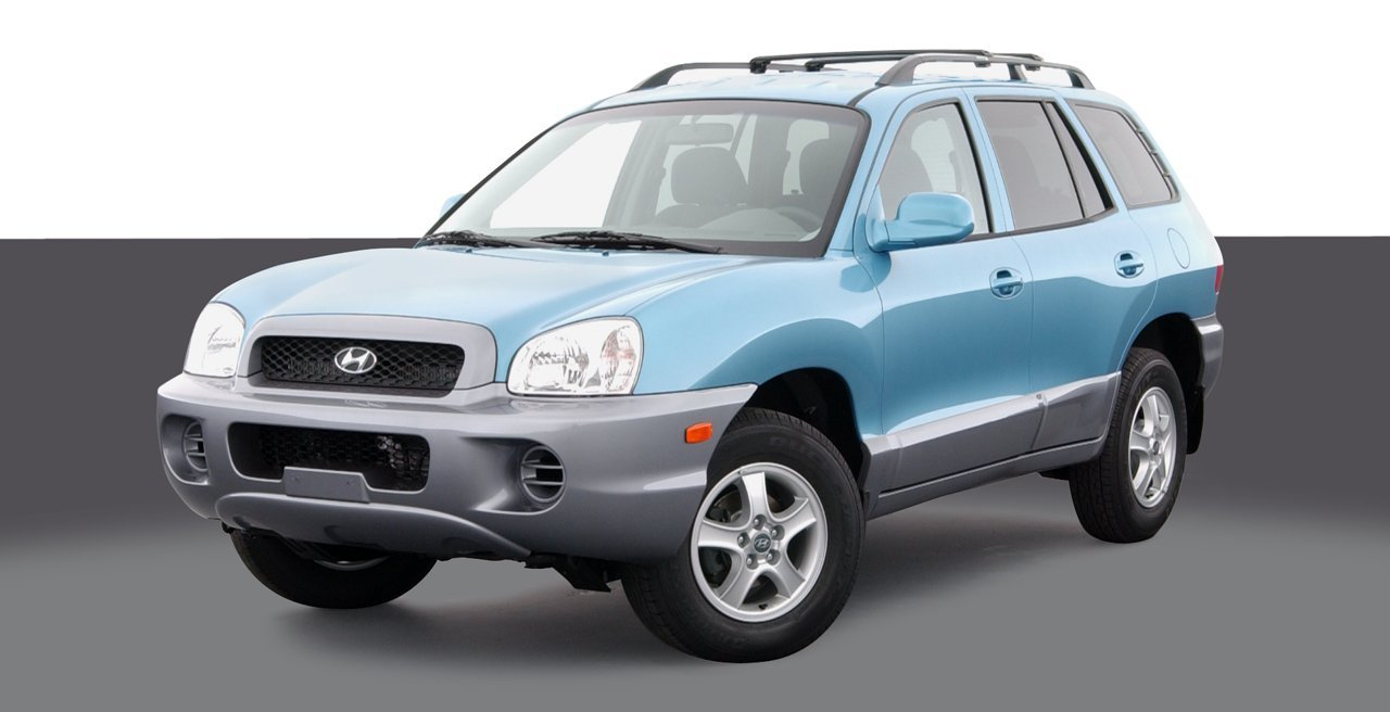2004 Hyundai Santa Fe, 4 Door 2 Wheel Drive Automatic Transmission 2.4L ...