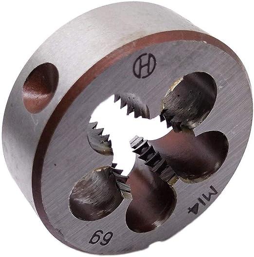 US Stock HSS 8mm x 1.25 Metric Die Left Hand Thread M8 x 1.25mm Pitch