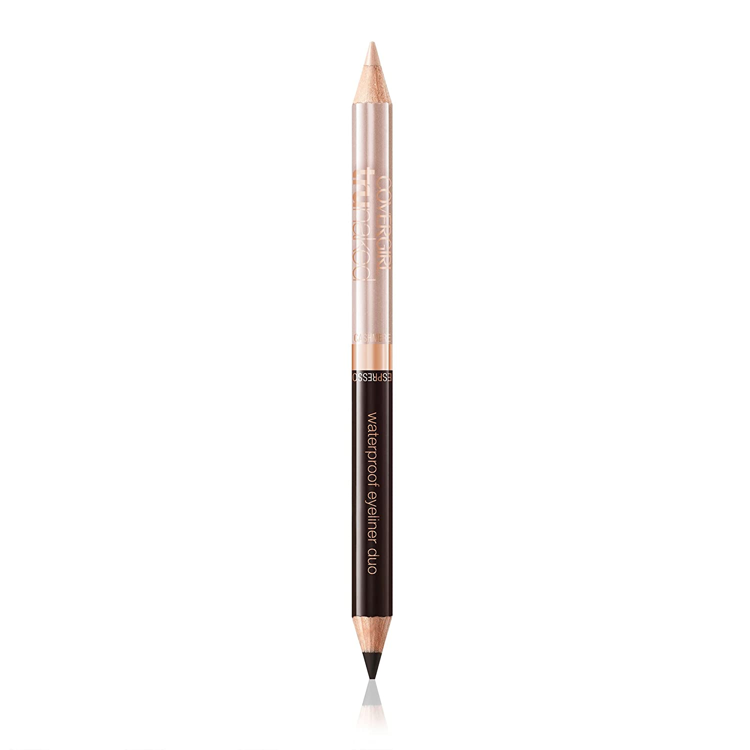 COVERGIRL truNaked Waterproof Eyeliner Duo Cashmere/Espresso, .03 oz (packaging may vary)