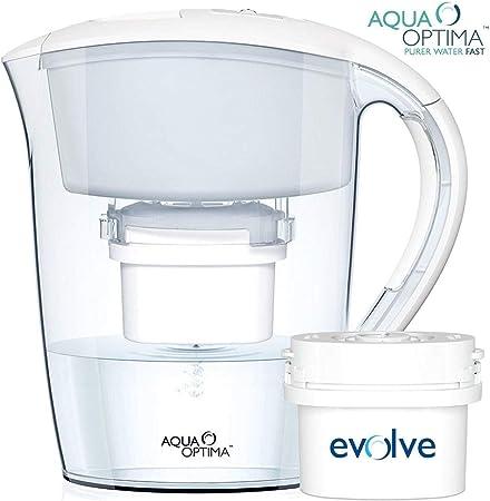Aqua Optima Jarra con Filtro de Agua, Rojo, 2 Meses: Amazon.es: Hogar