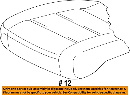 Amazon Com New Genuine Oem Vw Passat Right Lower Leatherette Seat