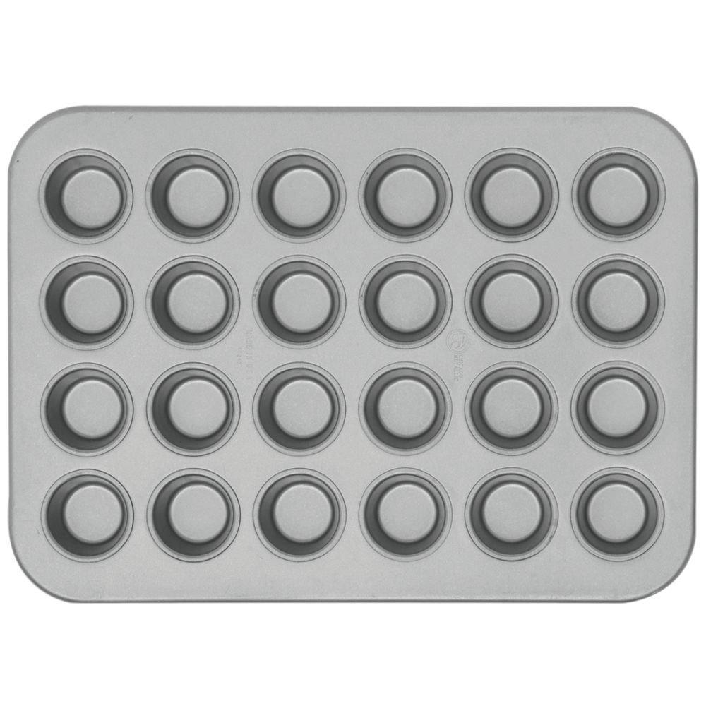 Chicago Metallic 45245 Glazed 24-Cavity Mini-Muffin Pan