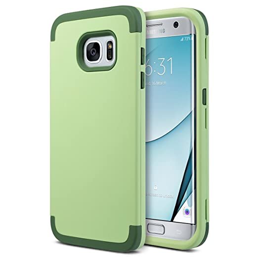 10 opinioni per ULAK- Custodia Samsung Galaxy S7 Edge , Galaxy S7 Edge Cover Custodia ibrida a 3