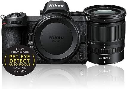 Nikon Z 6 + Nikkor Z 24-70mm f/4, Black