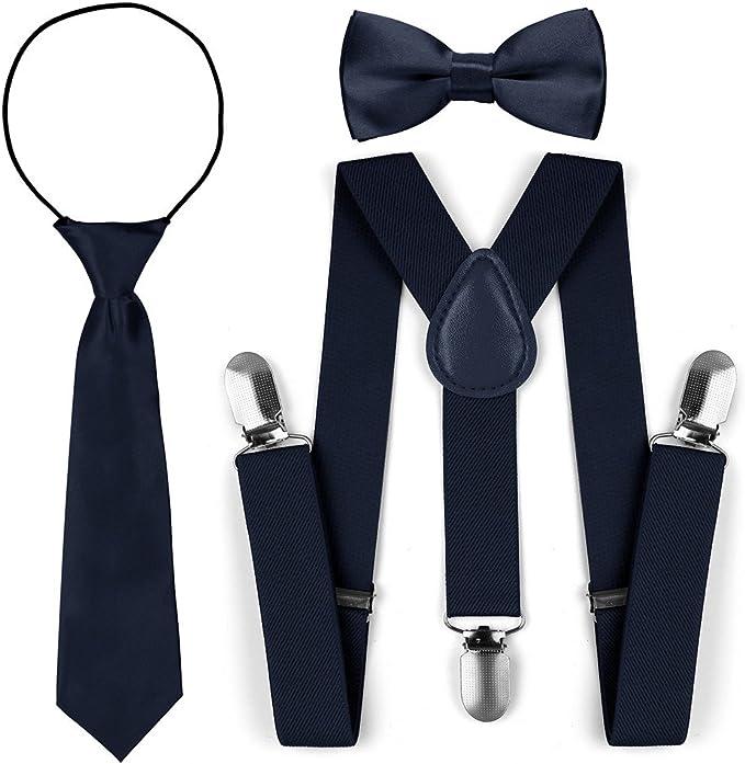 Juego de corbata para corbata de lazo de tirantes elásticos ...