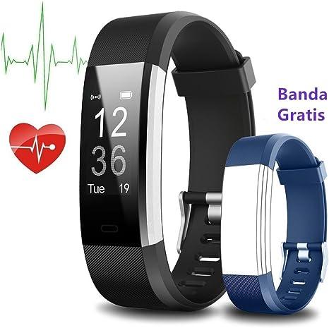Pulsera Inteligente, Yoolaite Fitness Tracker, monitor de ritmo ...