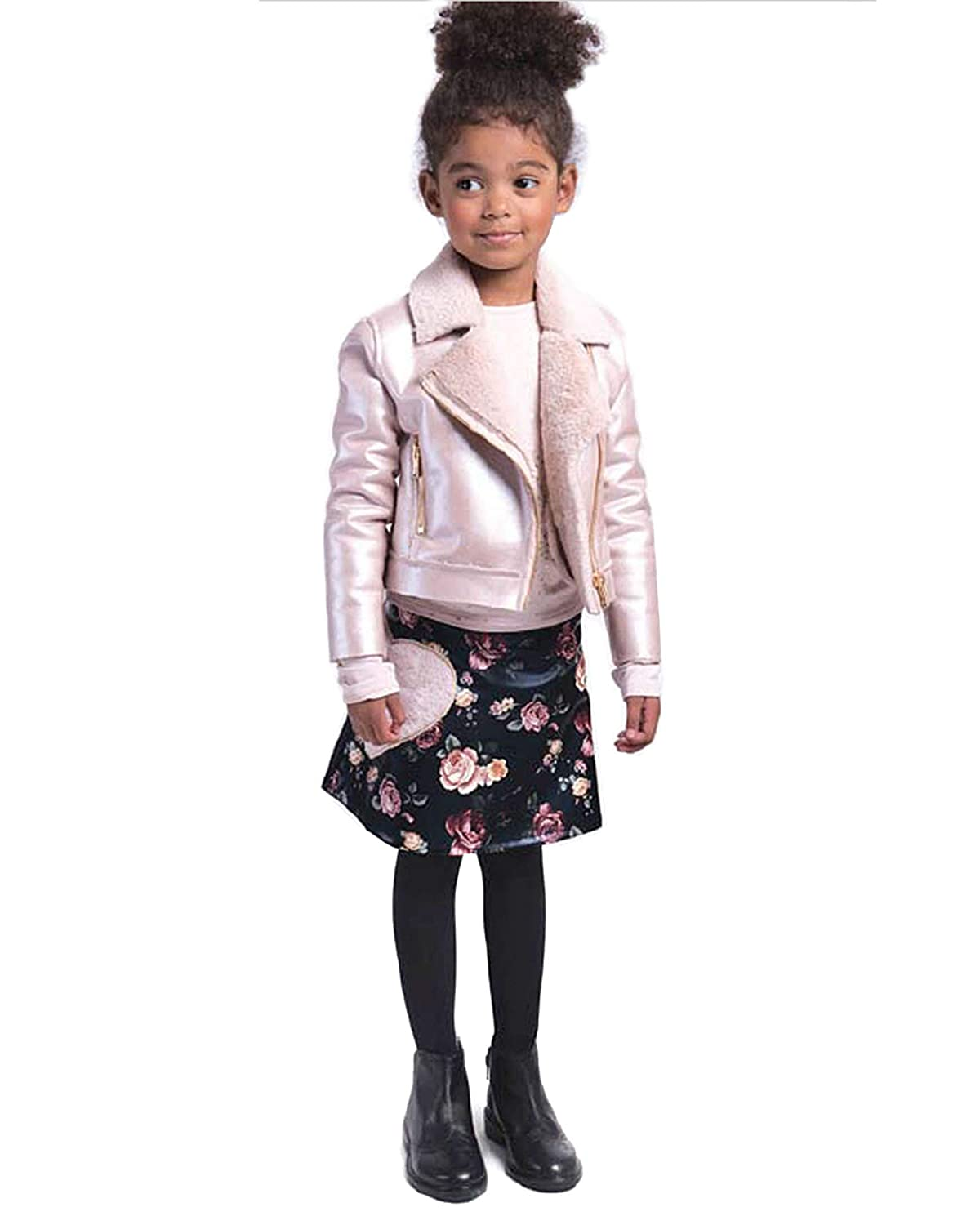 Sizes 6-14 Imoga Girls Faux Shearling Jacket Esmae